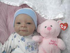 bonnie brown dolls   Realistic Baby Dolls » REBORN BABY GIRL ESTELLE EVALINA WOSNJUK ...