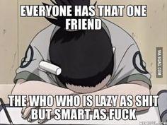 anime memes so true humor Funny Naruto Memes, Stupid Funny Memes, 9gag Funny, Funny Relatable Memes, Hilarious, Funny Troll, Anime Meme, Naruto Y Boruto, Shikamaru