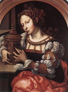 Jan Gossaert - Lady Portrayed as Mary Magdalene