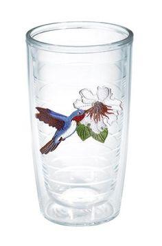 Garden Party Hummingbird 16 Oz. Tumbler