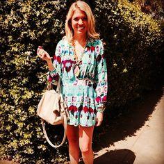 Easter Brunch  @tay__elizabeth wearing the Summer romper  #regram #chloeoliver #caughtinchloeoliver