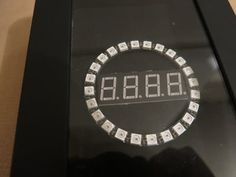 Yet another useless Arduino clock, but i love it. By Alexander.