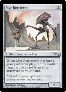 4 x MYR SIRE NM mtg Commander 2014 Grey Artifact Creature Myr Com