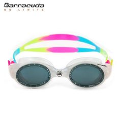 Barracuda UVIOLET Junior Swim Goggle #33620 - Ultra soft one-piece frame is easy and comfortable for children to wear. Simple and smooth strap adjustment!!!