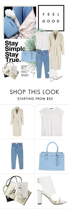 """#351"" by blacksky000 ❤ liked on Polyvore featuring Agave, Oui, Violeta by Mango, WithChic, Michael Kors, Chanel and IRO"
