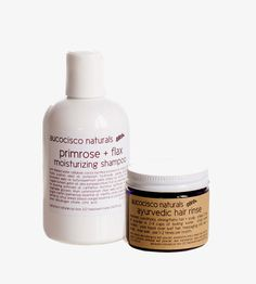 Moisturizing Shampoo & Herbal Hair Rinse Gift Set |  Aucocisco Naturals