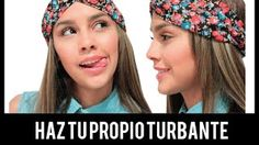 Como hacer un turbante