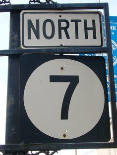 Mississippi State Highway 7 Sign