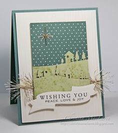 SeaGlass Papercrafts: The 12 Kits of Christmas--April