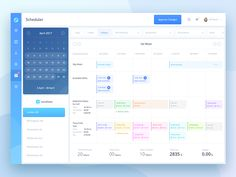 I worked on an assignment for scheduler screen. UX was provided by client, I worked on restructuring content to ease journey and make interface more user centric.