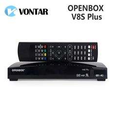 Genuine VONTAR Openbox V8S Plus DVB-S2 Digital Satellite Receiver Support Xtream USB Wifi Youtube Biss Key Card Sharing NEWCAMD Sale Only For US $37.81 on the link Nova Tv, Set Top Box, Free To Air, Usb, Brand Store, Kids Furniture, Consumer Electronics, Youtube, Wifi