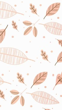 New Rose Gold Wallpaper Backgrounds Leaves 36 Ideas Wallpaper Pastel, Cute Fall Wallpaper, Rose Gold Wallpaper, Cute Patterns Wallpaper, Iphone Background Wallpaper, Aesthetic Iphone Wallpaper, Screen Wallpaper, Aesthetic Wallpapers, Fall Backgrounds Iphone