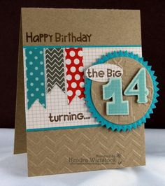 The Big 1-4 by kendra - Cards and Paper Crafts at Splitcoaststampers