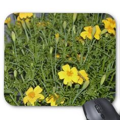Little Marigolds Mousepad