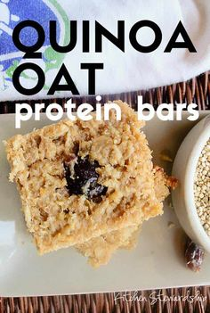 A homemade protein bar recipe that's kid-tested and whole foods approved! Cooked quinoa and oats come together in this high protein recipe to make a homemade gluten-free snack bar fit for a runner, hungry child, or even as lactation support for a nursing mother!