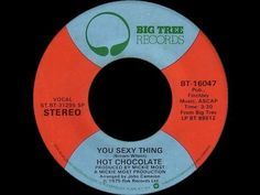 ▶ Hot Chocolate ~ You Sexy Thing 1975 Disco Purrfection Version - YouTube