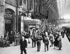 King's Cross railway station.