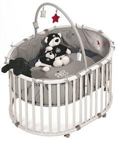 ROCK STAR BABY Laufgitter Oval inkl. Spielbogen   Babyartikel.de