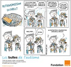 retransmission en direct bande dessinée autisme