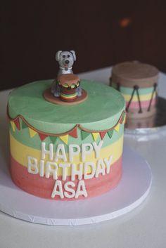 Rasta Reggae Birthday Cake!