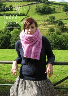 Bobble Rib Scarf Kit