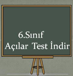 6.Sınıf Açılar Testleri İndir