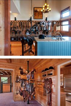 These tack rooms are gorgeous! Can you even pick a favorite?
