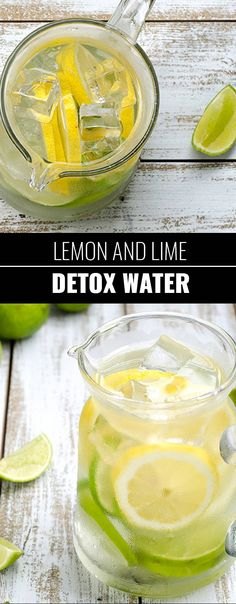 31 Detox Water Recipes for Drinks To Cleanse Skin and Body. Easy to Make Waters and Tea Promote Health, Diet and Support Weight loss Lemon and Lime Detox Water Recipe http://diyjoy.com/diy-detox-water-recipes
