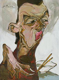 LA BA QUAN http://www.widewalls.ch/artist/la-ba-quan/  #contemporary  #art  #painting