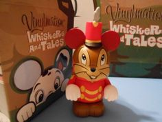 Whiskers and Tales Disney Vinylmation 3'' Figure CHASER TIMOTHY Cute Disney Vinylmation