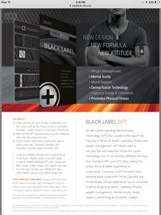 Black Label DFT's ThriveWithMe www.AngieM1234.Le-Vel.com