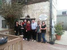 Historic stop with Temecula's Tastiest Tours walking wine, beer and tapas tour  www.TemeculasTastiestTours.com