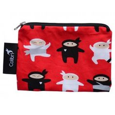 Colibri - Small Reusable Bag - Ninjas Eco Kids, Sandwich Bags, Snack Bags, Reusable Bags, Tween, Coin Purse, Wallet, Ninjas, Coin Purses