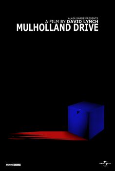 Mulholland Drive Minimal Movie Posters, Film Posters, Mullholland Drive, Drive Poster, Film Theory, Flickering Lights, Cinema Film, Alternative Movie Posters, David Lynch