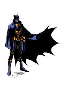 Jorge Jimenez's concept art for Earth 2 Batman (Dick Grayson)