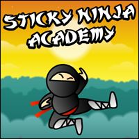 Can you become a Sticky Ninja Master? Try in this unusual platform / puzzle game to progress to the ninja heights. Get through 30 levels, defeating enemies to unlock the exit door.
