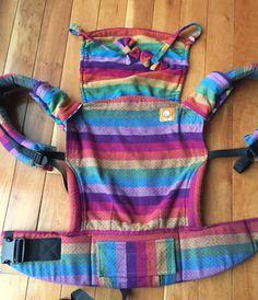 Girasol Surprise Rainbow Diamond Weave Purpura Weft TULA BABY CARRIER