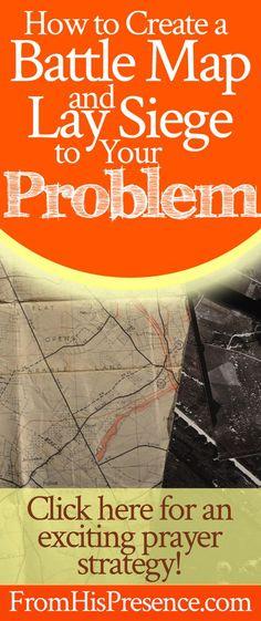Prayer | Intercession | Deliverance from trouble | Battle map | Lay siege in prayer | Ezekiel | Winston Churchill