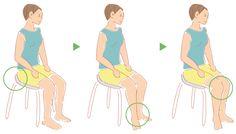 1日5分で脚長に!ながらO脚・X脚改善法|MotecoBeauty