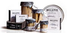 Conservas Billante Packaging Design