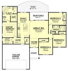 Plan #430-105 - Houseplans.com