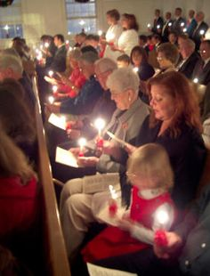 The Moravian Christmas Eve Lovefeast from Olivet Moravian