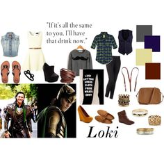 Outfit inspirations for Loki