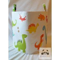 Dinosaurs / dinós tároló Toy Storage Baskets, Reusable Tote Bags