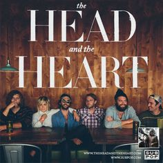 11.15.13 and 11.16.13 = The Head and the Heart in Dallas and Austin. Yesssss! @Leigh FInney