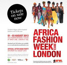 KilonSparkles?: Nigerian Designers Set to Show at Africa Fashion Week London 2013