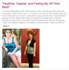 Plexus Testimony Jenngardner.myplexusproducts.com/register Ambassador # 275637