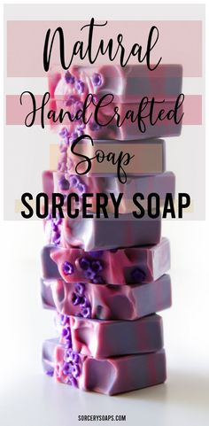 Natural handcrafted soap. Created by Sorcery Soap. 100% natural ingredients.    #soap #soapwitch #soap making #sorcery soap #soap dough #cold process soap #homemade soap #soap recipe #diy soap recipe #soapartistry #naturalsoap #diy soap