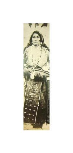 Kitchi Nika (aka Big Goose) - Ojibwa - circa 1885. ~~ my great great great grandfather from Swan Lake Manitoba