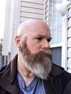 Amazing Beard Styles from Bearded Men Worldwide Shaved Head With Beard, Bald With Beard, Bald Men, Shaved Heads, Beard Styles For Men, Hair And Beard Styles, Beard Haircut, Perfect Beard, Nice Beard
